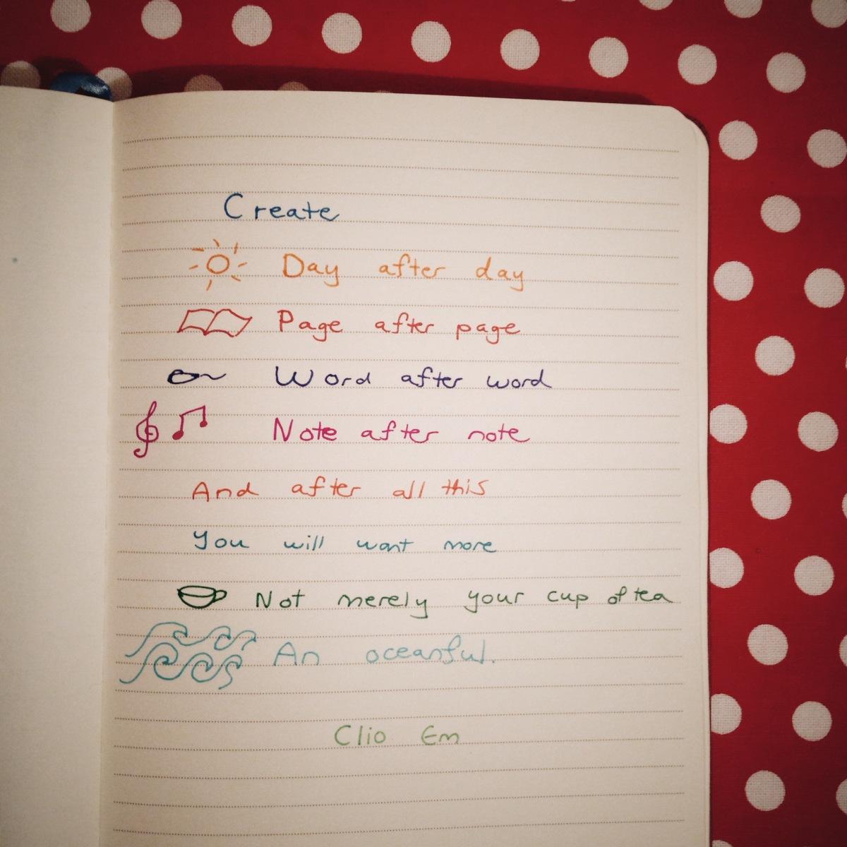 create   clio em