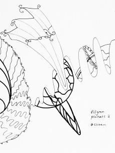 filigree planets 2 | © clio em