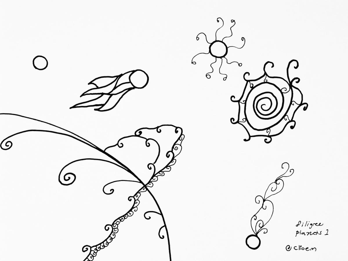 filigree planets 1 | © clio em