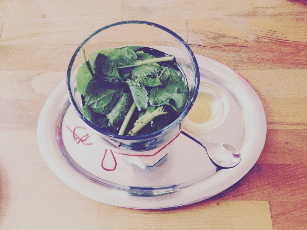 mint tea by clio em