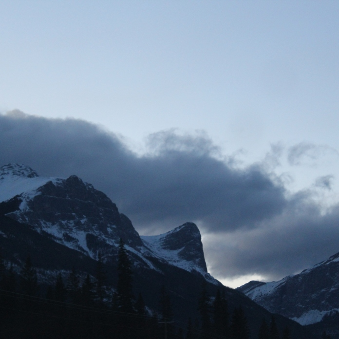 Rocky Mountains near Canmore