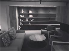 Banff Centre: a reading nook
