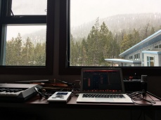 Studio with a view © Clio Em