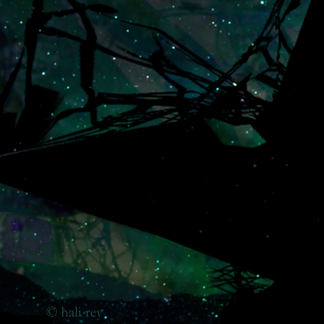 Constellations (Detail; illustration by Hali Rey)