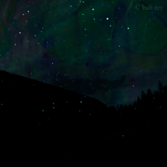 Constellations (Detail; illustration by Hali Rey)
